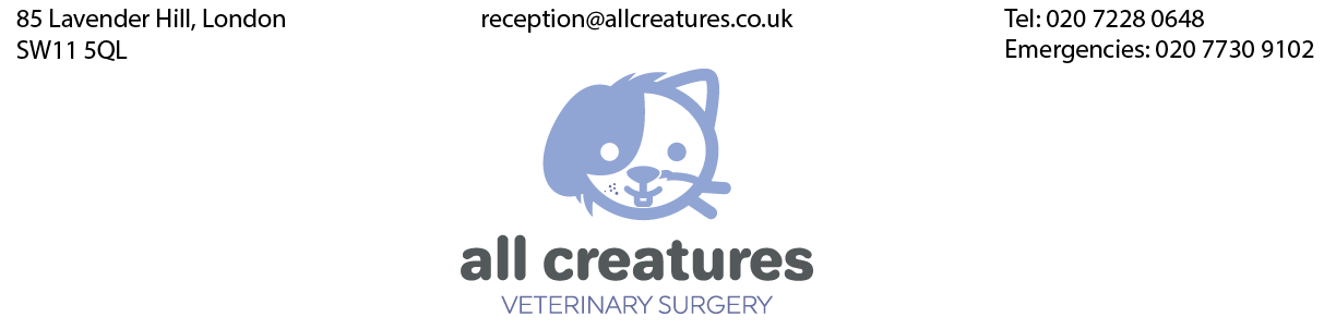 All Creatures Veterinary Surgery